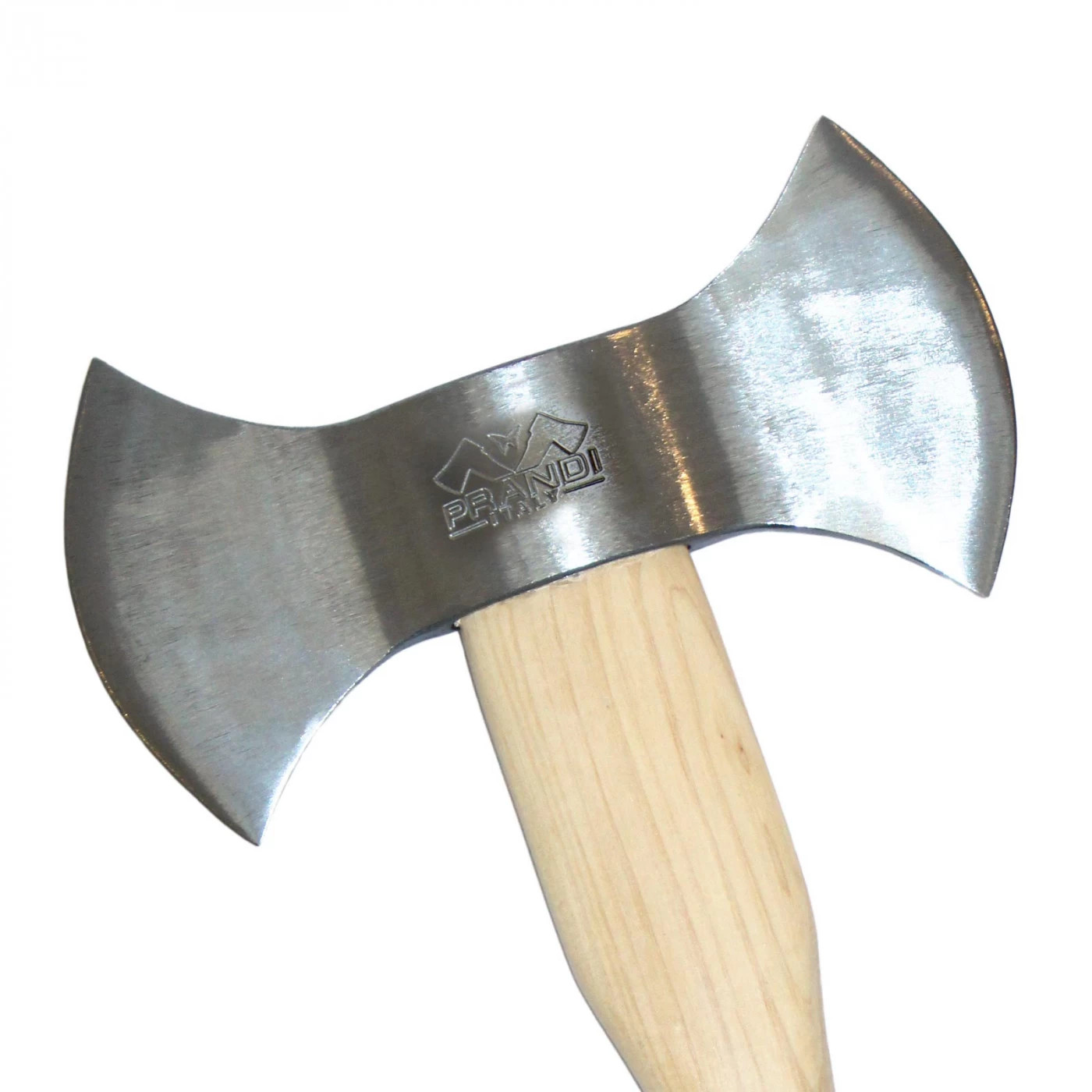 Prandi Doppelschneidige Wurfaxt 1200 gr